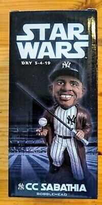 New York Yankees Jedi CC Sabathia Star Wars SGA Bobblehead 5/4/19
