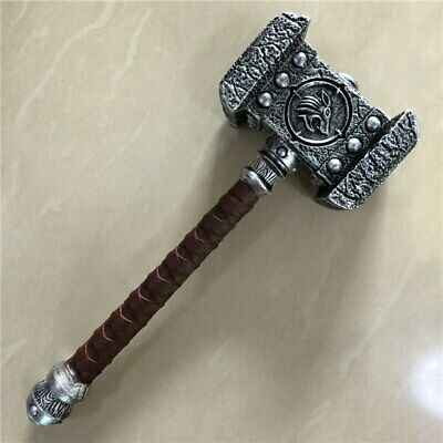 44cm Thor's Hammer Cosplay ,Thor Thunder Hammer Figure Weapons Model Giff Toy