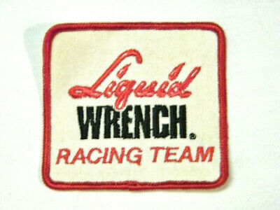 New Old Stock Vintage 80's Liquid Wrench Racing Team Sew On Patch Stock Car ATV