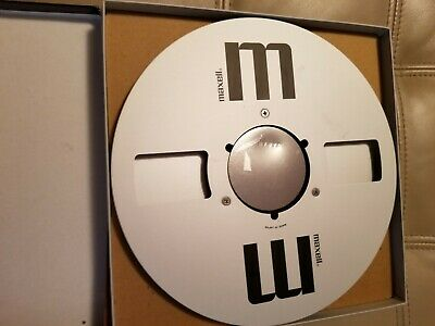 """Maxell UDXL 35-180B Empty Reel To Reel 10.5"""",  1/4"""" tape. USED IN GOOD CONDITION"""