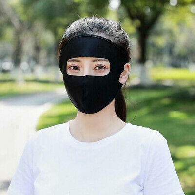 Outdoor Sports Sun UV Protection Ultra Thin Summer Sunscreen Full Face Mask New