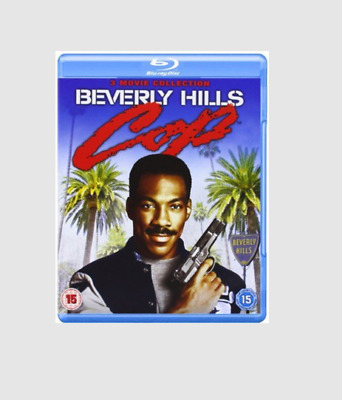 Beverly Hills Cop 1-3 Movie Collection [Blu-ray] [Region free]