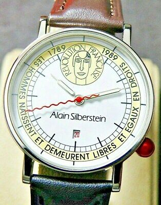 Alain Silberstein French Revolution 200th Anniversary Limited Edition Mens Watch