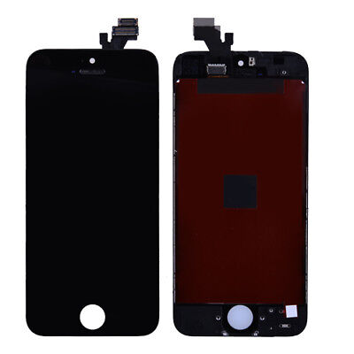 For iPhone 5 Black LCD Lens Touch Screen Display Digitizer Assembly Replacement