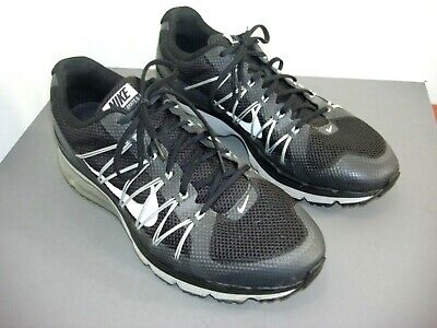 size 40 ccdee bb531 Nike Air Max Excellerate 3 Men s Black 703072-001 Lace-Up Running Shoes Size