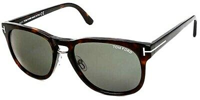 79c41d598a New Authentic Tom Ford Franklin TF346 56N Havana Green Sunglasses