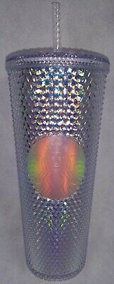 Starbucks Studded Holographic Venti 24 oz. Cold Cup Tumbler Holiday 2018