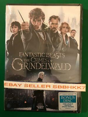 Fantastic Beasts: The Crimes of Grindelwald DVD (2 DISC) {{AUTHENTIC READ}} New