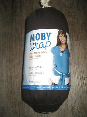 Moby Wrap ~Natural Cotton ~ One Size ~ Brown ~ Baby Carrier New