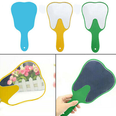 Dental Mouth Mirror Teeth Shape For Tooth Examination Instrument Cleanin INL