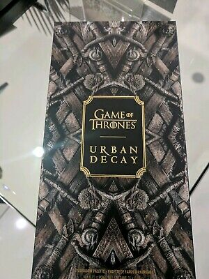 Urban Decay Game Of Thrones Limited Edition Eyeshadow Palette Book of Shadows UK