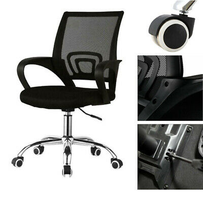 Racing Mesh Office Chair Adjustable Executive Back Swivel PC Gaming Desk Chair
