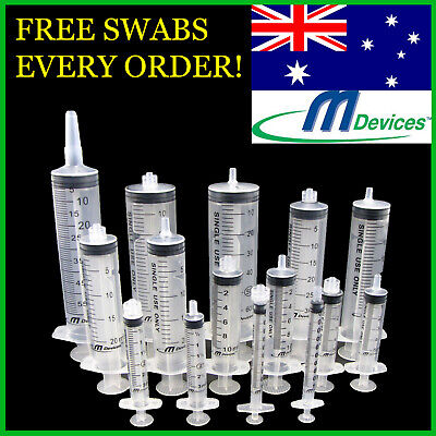 SYRINGES 1ml 3ml 5ml 10ml 20ml 30ml 50ml x Luer Slip / Lock Needles Catheter Tip