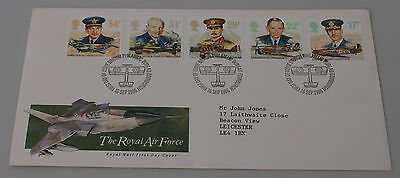 16th Sept 1986 History of the Royal Air Force First Day Cover SHS