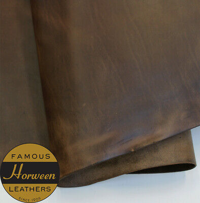 Horween Chromexcel Leather Veg Re Tan Natural Panels 2.0-2.2 mm Thick Firm Feel.