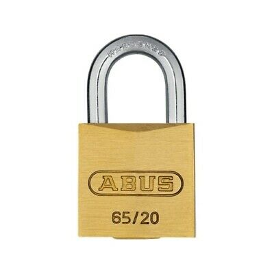 Slot hang abus koper 20mm - goud