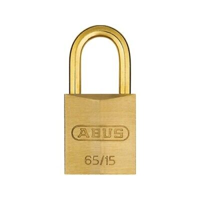 Slot hang abus koper 15mm - goud