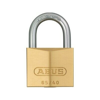 Slot hang abus koper 40mm - goud
