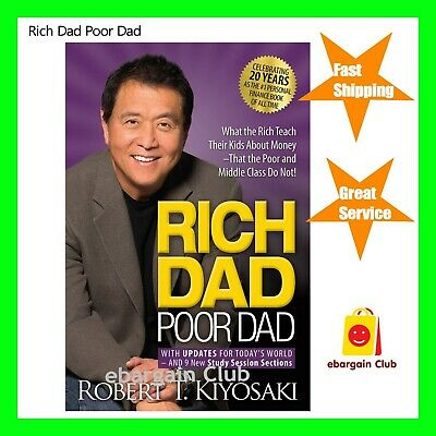 Rich Dad Poor Dad Robert Kiyosaki Paperback New eBC