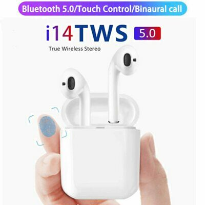 New 2019 TWS i14  For iPhone Wireless Earphones Bluetooth 5.0 Wireless Headset