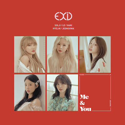 KPOP EXID, WE, 5th Mini Album, Korea CD