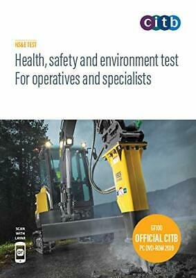 Health, Safety & Environment Test for Operatives & Specialists 2019 DVD CSCS-NEW