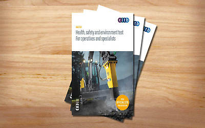 CITB Health, Safety & Environment Test for Operative & Specialist 2019: GT100/19
