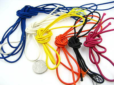 5ms of off white 2mm Round Elastic cord sewing accessories stretch bungee cord