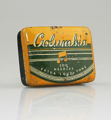 COLUMBIA 'Extra Loud Tone' Gramophone Needle Tin - Scarce (YZ99)