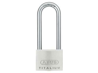 Abus Mechanical ABU64TI5080 64TI / 50mm Titalium™ Candado 80mm Grillete Largo