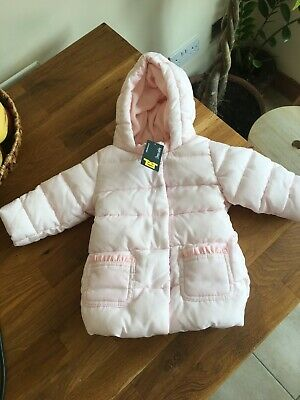 United Colors of Benetton Baby Girls 3-6 Months pink coat jacket.NEW