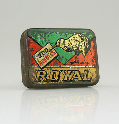 ROYAL Gramophone Needle Tin - Scarce (YZ104)