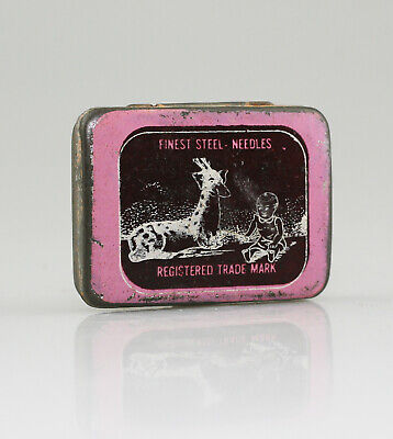 Finest Steel Needles (Reg. Trade Mark) Gramophone Needle Tin - Scarce (YZ105)