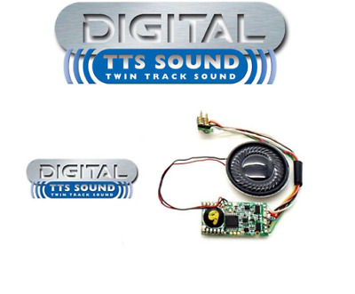 Hornby TTS Sound Decoders - Various Sounds to convert DCC Ready Locos to Sound F