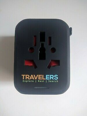 Universal Travel Adapter All-In-One International Charger Plug Wall Charger 4USB