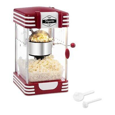 Retro Cinema Style Hot Air Popcorn Machine Electric 300W Popper Pop Corn Maker