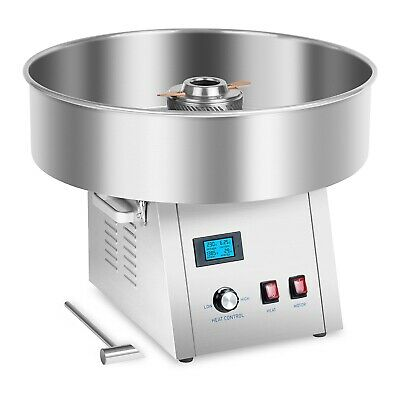 Modern Commercial Candy Floss Machine Party Cotton Sugar Maker Stainless Steel