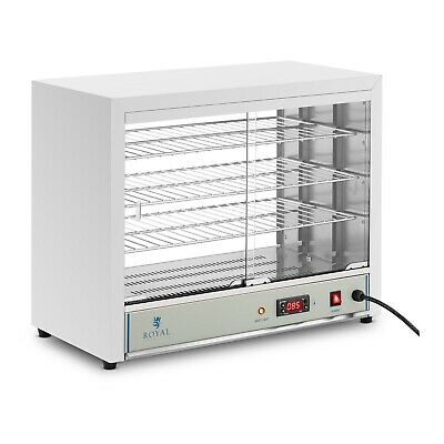 Ideal 4 All Food 30-85°C Stainless Steel Display Pie Cabinet Pizza Potato