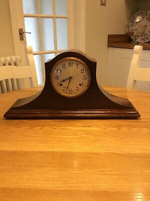 Napoleon hat mantel clock