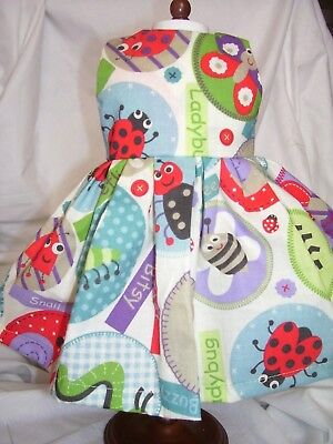 Dress fits 18 inch American Girl Doll - Butterfly, Ladybug, Bee. Cute as a Bug!