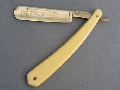 Old Straight Razor - Coupe Choux R. Bares - 5/8 - Shave Ready
