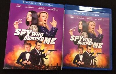 The Spy Who Dumped Me Blu Ray Dvd 2 Disc Set + Slipcover Sleeve Free Shipping