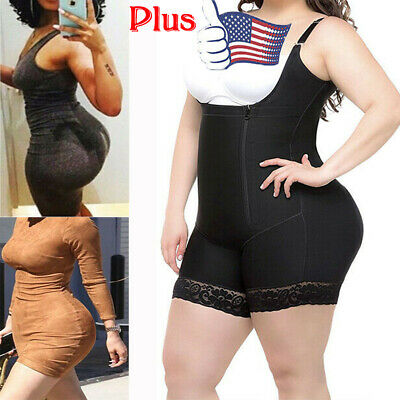 Women Full Body Shaper Shapewear Post Surgery Girdle Bodysuit Plus Size Slimming