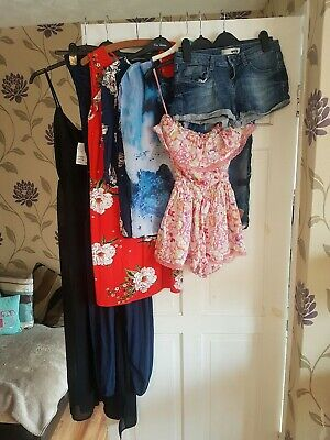 Ladies Womens Size 8 Spring Summer Clothes Bundle River Island, Topshop, Joules