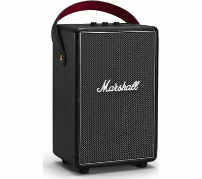 MARSHALL Tufton Portable Bluetooth Speaker - Black - Currys