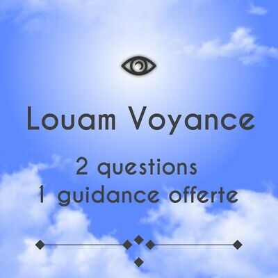 Louam Voyance Pro Medium Confirmée  2questions+1guidance Offerte En1h