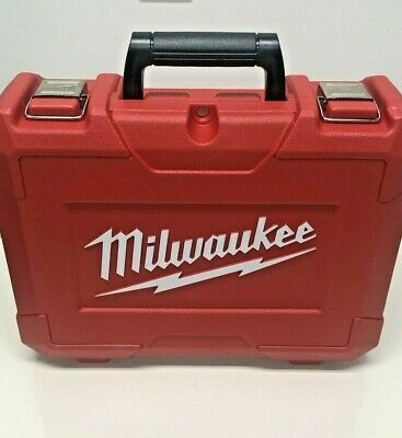 Milwaukee M18 Drill / Driver HARD CASE (CASE ONLY) FITS MODELS #2606 M18 18v