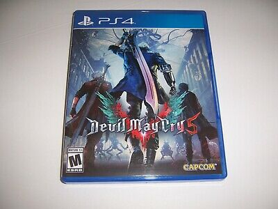 Original Box Case Replacement Sony PlayStation 4 PS4 Devil May Cry 5 Five