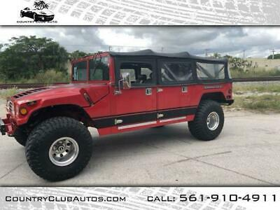 1968 Hummer H1 4X4  custom 1968 HUMMER H1 CLONE   43,000 Miles Red   Automatic Custom build 80k invested
