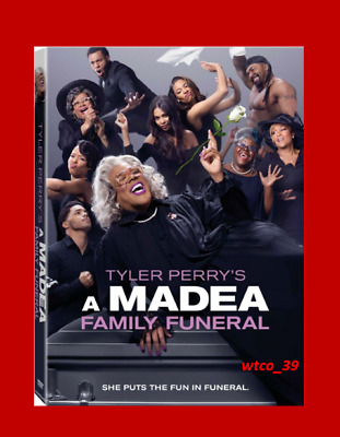 Tyler Perry's A Madea Family Funeral [DVD] [2019] NEW